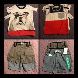 🆕 Carter's Boy Summer Bundle Set